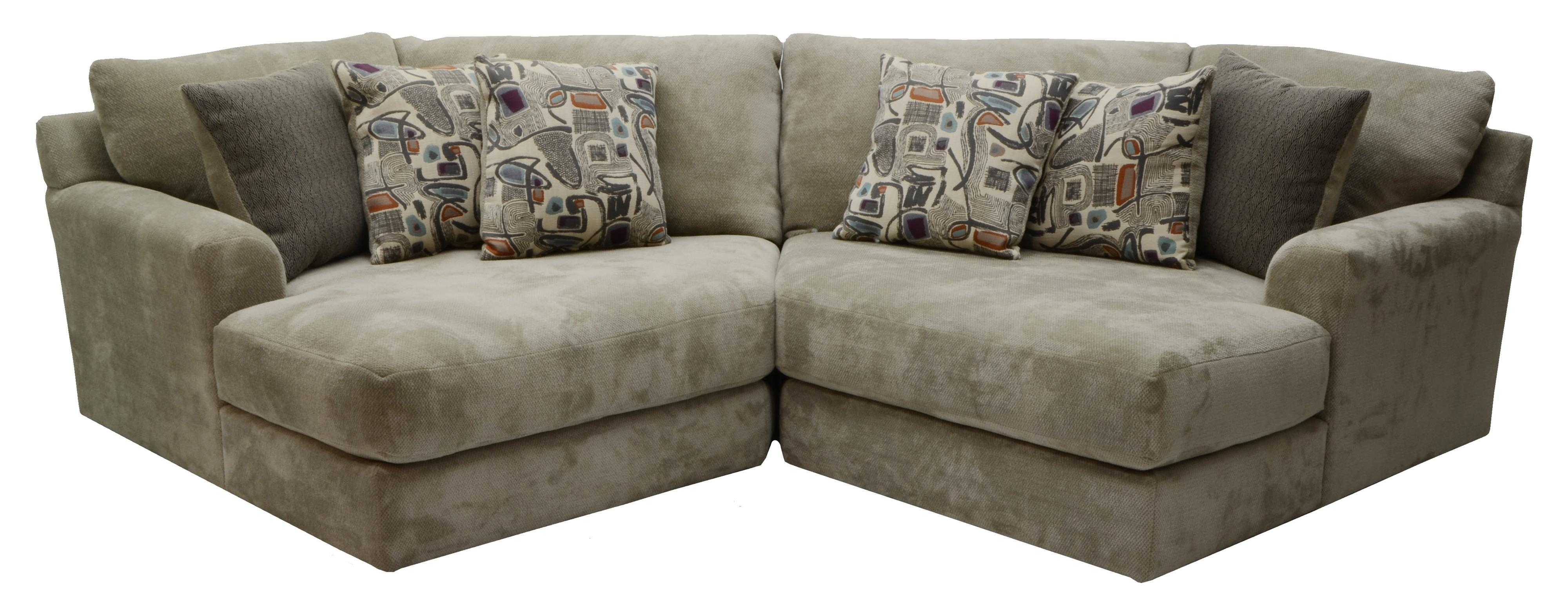 Two Seat Sectionaljackson Furniture | Wolf And Gardiner Wolf Intended For 2 Seat Sectional Sofas (Image 15 of 15)