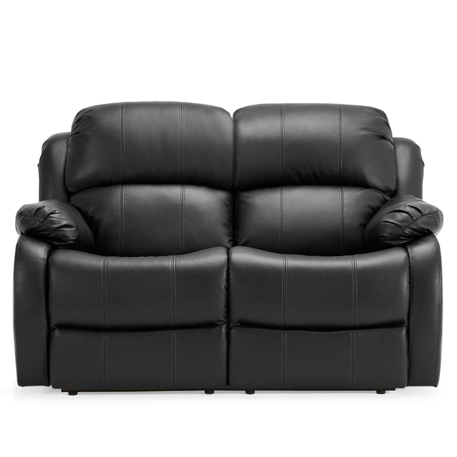 Two Seater Recliner Leather Sofa – Leather Sectional Sofa Inside 2 Seater Recliner Leather Sofas (Image 19 of 20)