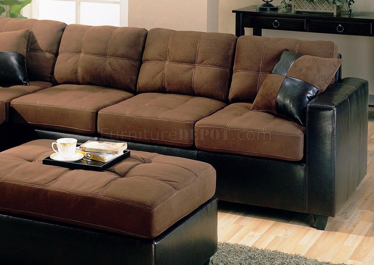 Featured Image of Chocolate Brown Sectional