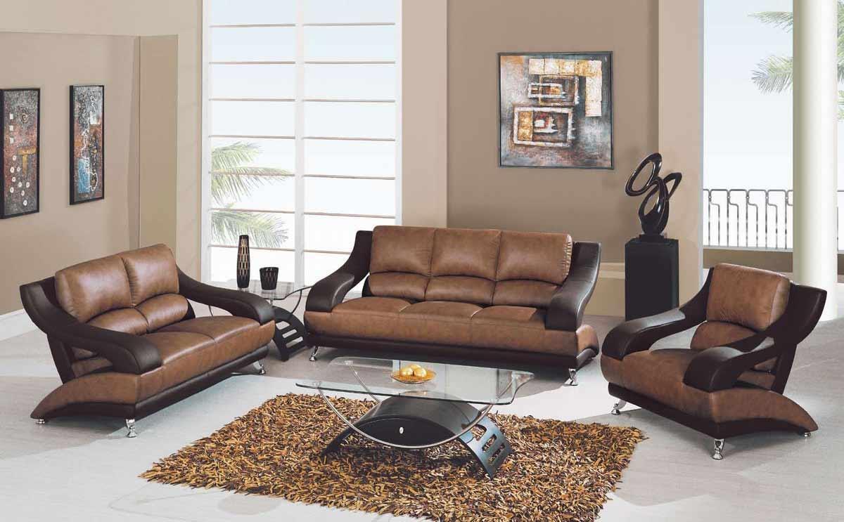 Two Tone Sofa 89 | Leather Sofas With Regard To Two Tone Sofas (Image 16 of 20)