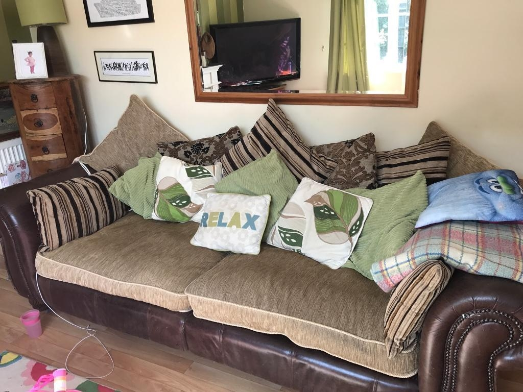 Two Very Large Sofas | In Lee On The Solent, Hampshire | Gumtree Within Very Large Sofas (View 11 of 20)