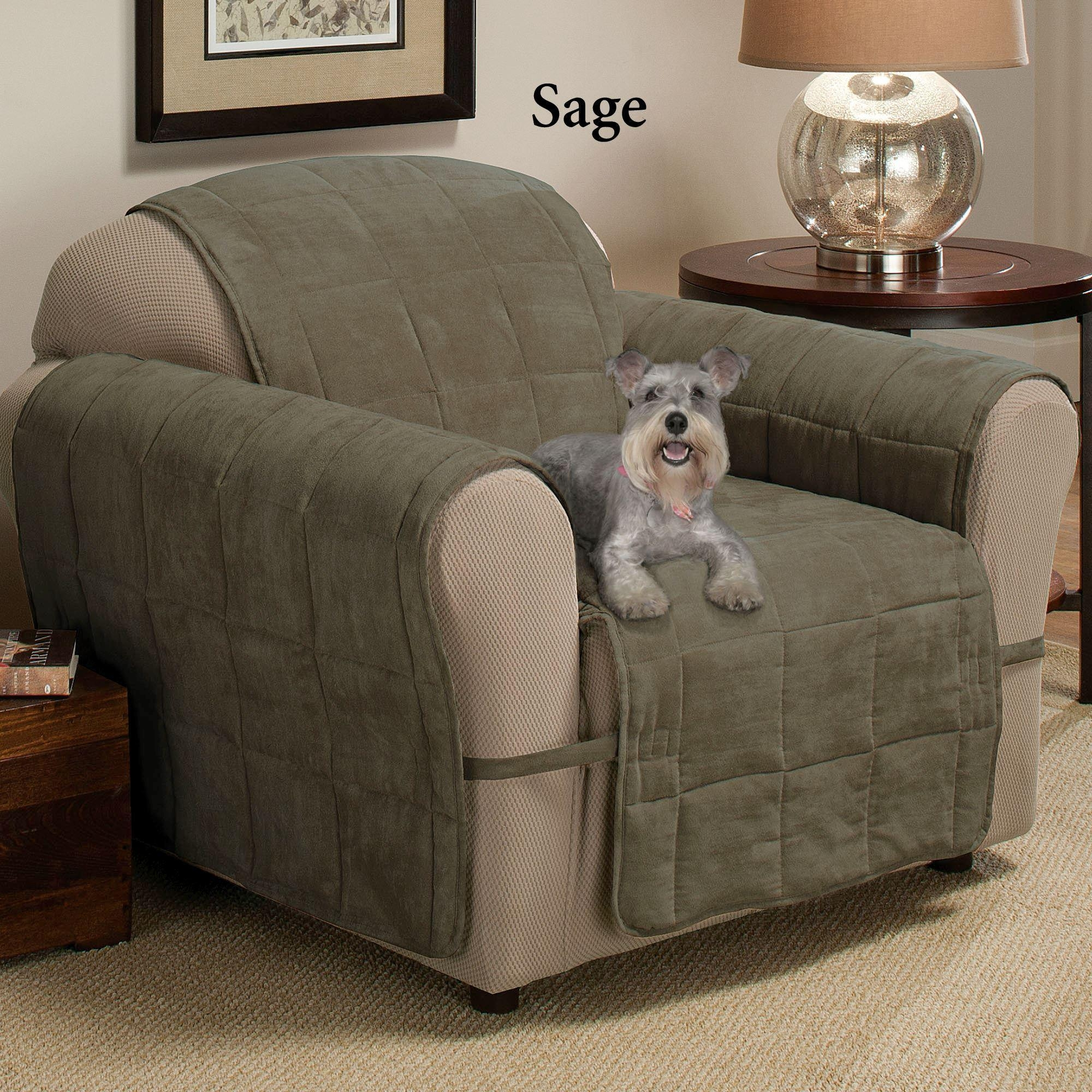 Ultimate Pet Furniture Protectors With Straps for Covers for Sofas and Chairs