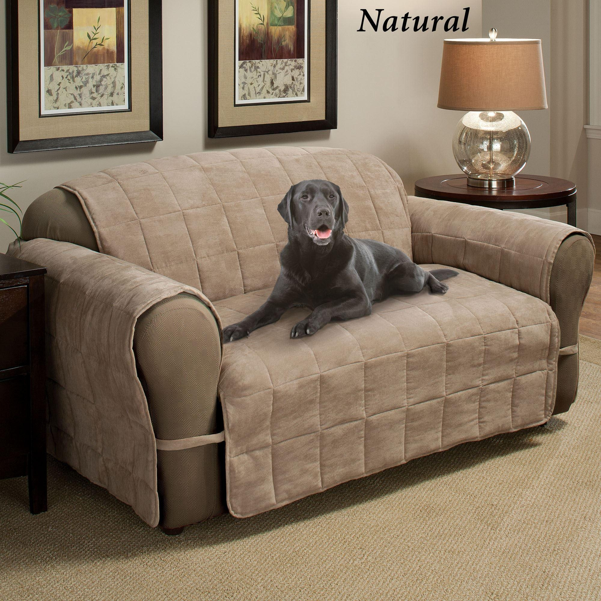 Ultimate Pet Furniture Protectors With Straps throughout Sofa and Loveseat Covers