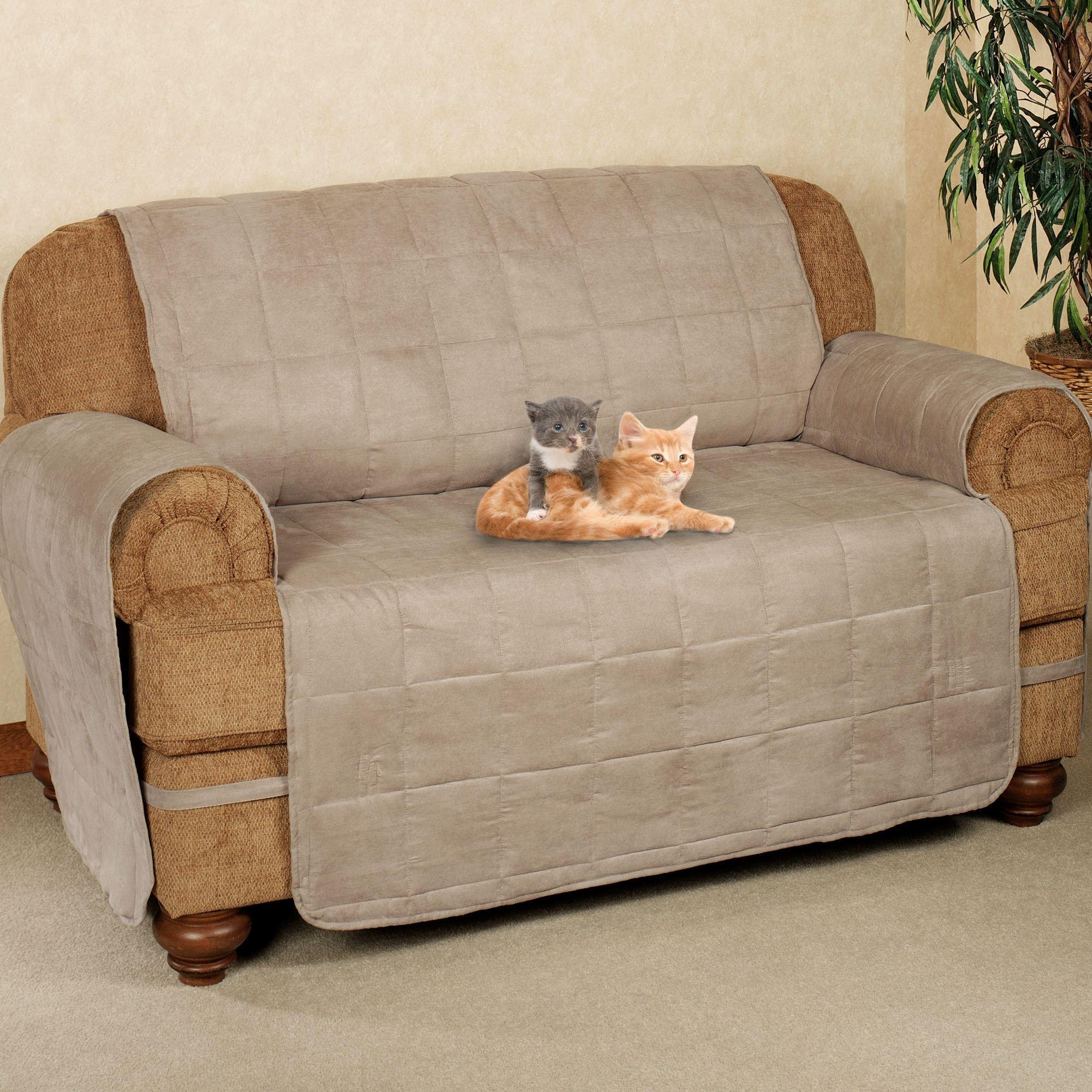 Ultimate Pet Furniture Protectors With Straps with regard to Sofa and Loveseat Covers