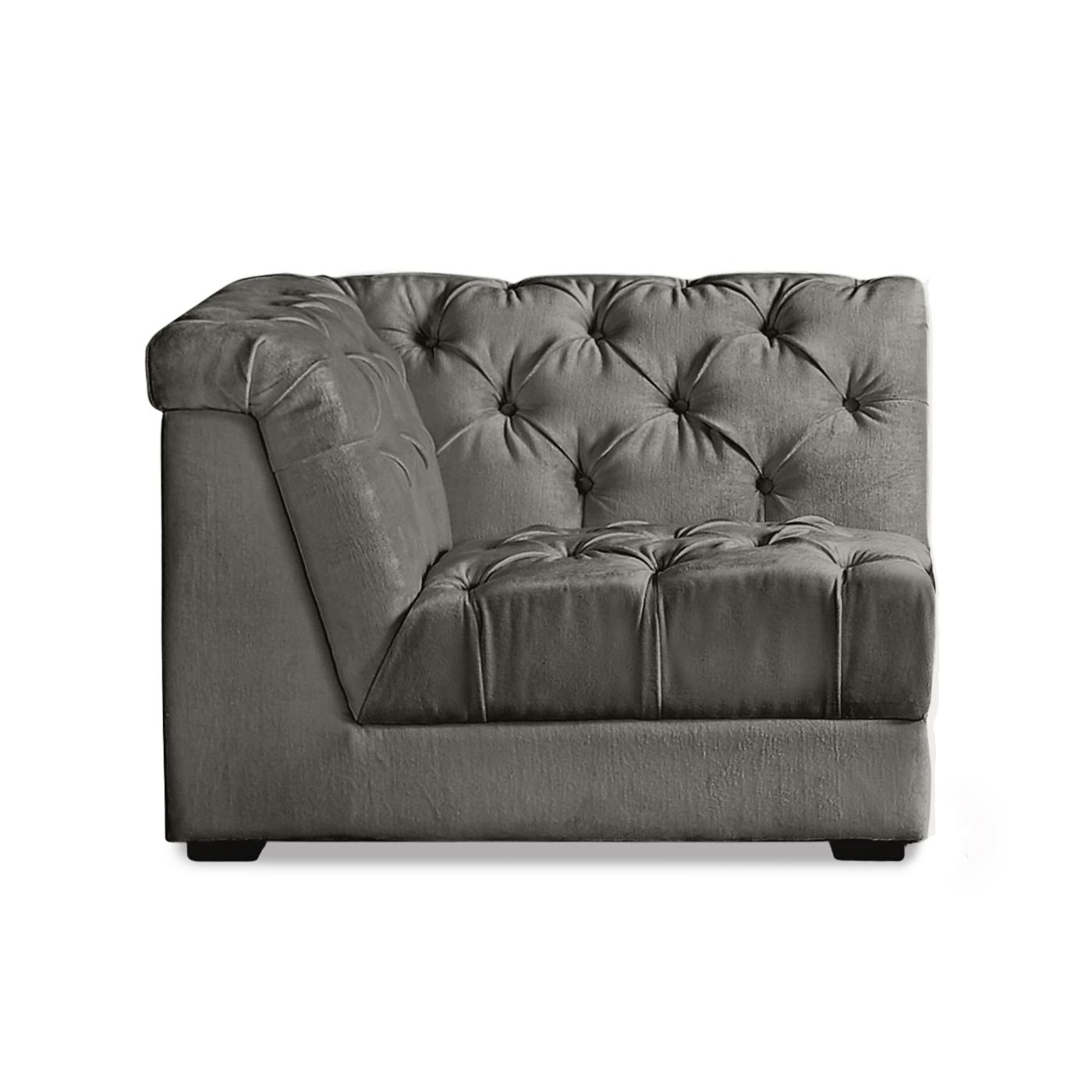 Ultra Charcoal Sectional Modular Sofa | Modern Furniture Pertaining To Modular Sofas (Image 20 of 20)