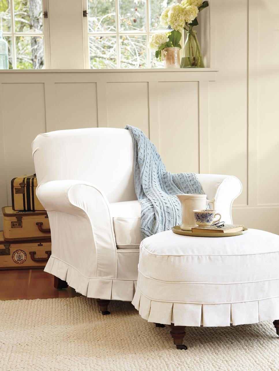 Unbelievable Slipcovers For Living And Dining Rooms | Hgtv In Slipcovers For Chairs And Sofas (Image 20 of 20)
