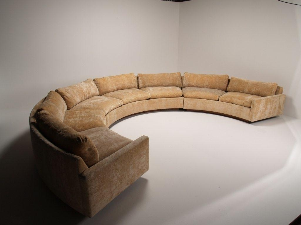 Unique Circle Sectional Sofa For Elegant Room Decoration — Home Regarding Circle Sectional (Image 15 of 15)