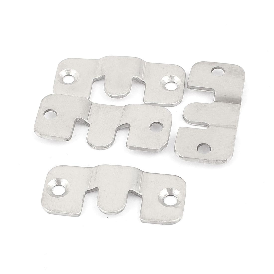 Universal Sectional Interlock Sofa Couch Connector Bracket Set with regard to Sectional Couch Brackets