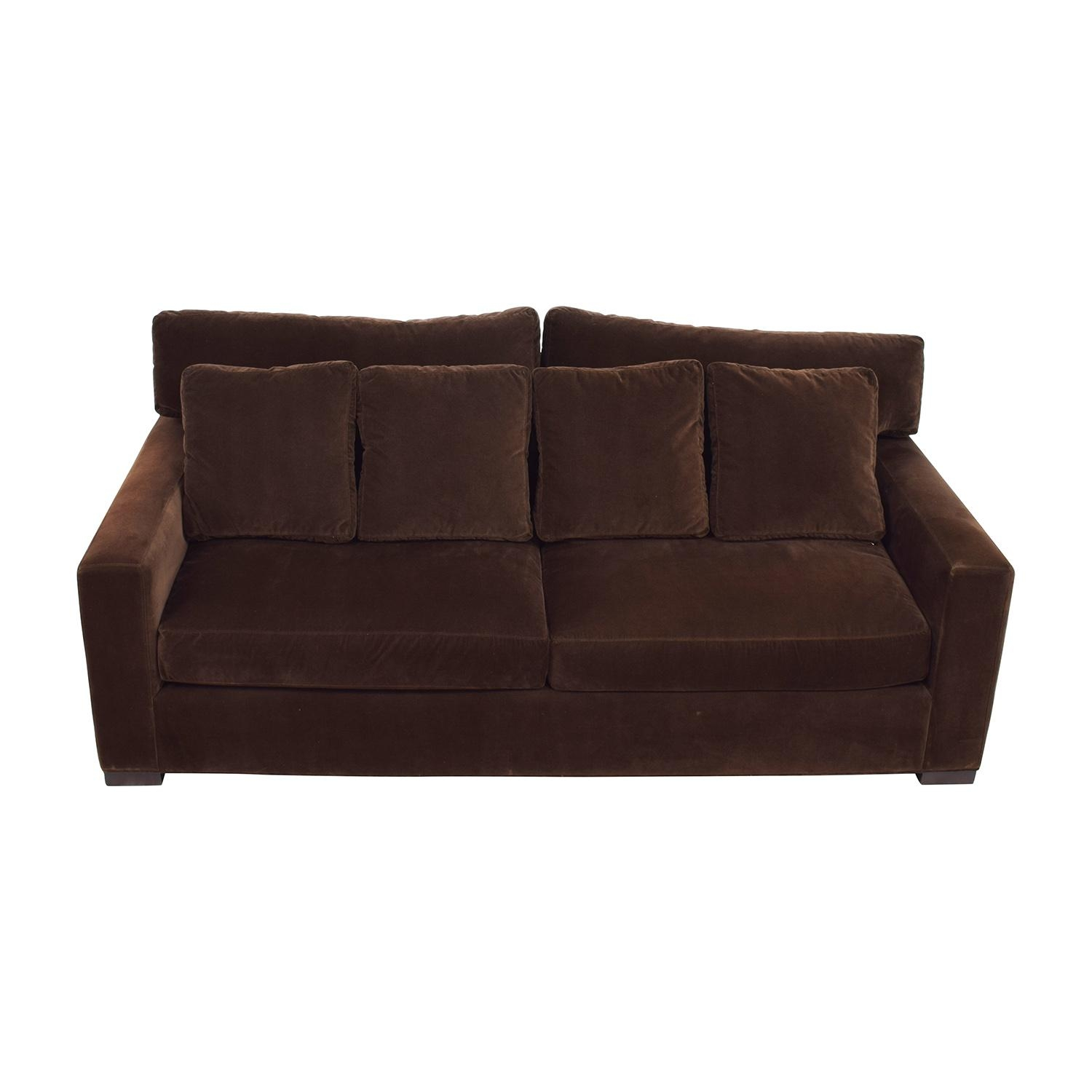 Used Sofas Nj inside Brown Velvet Sofas