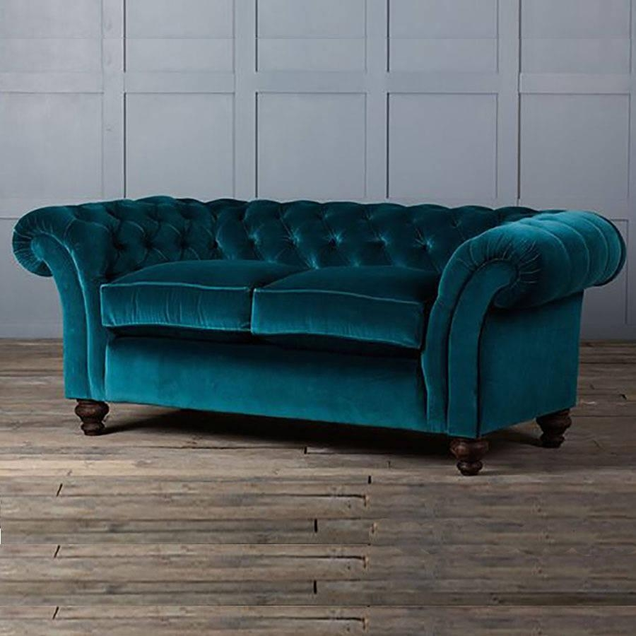 Velvet Chesterfield Sofa | Design Your Life intended for Purple Chesterfield Sofas