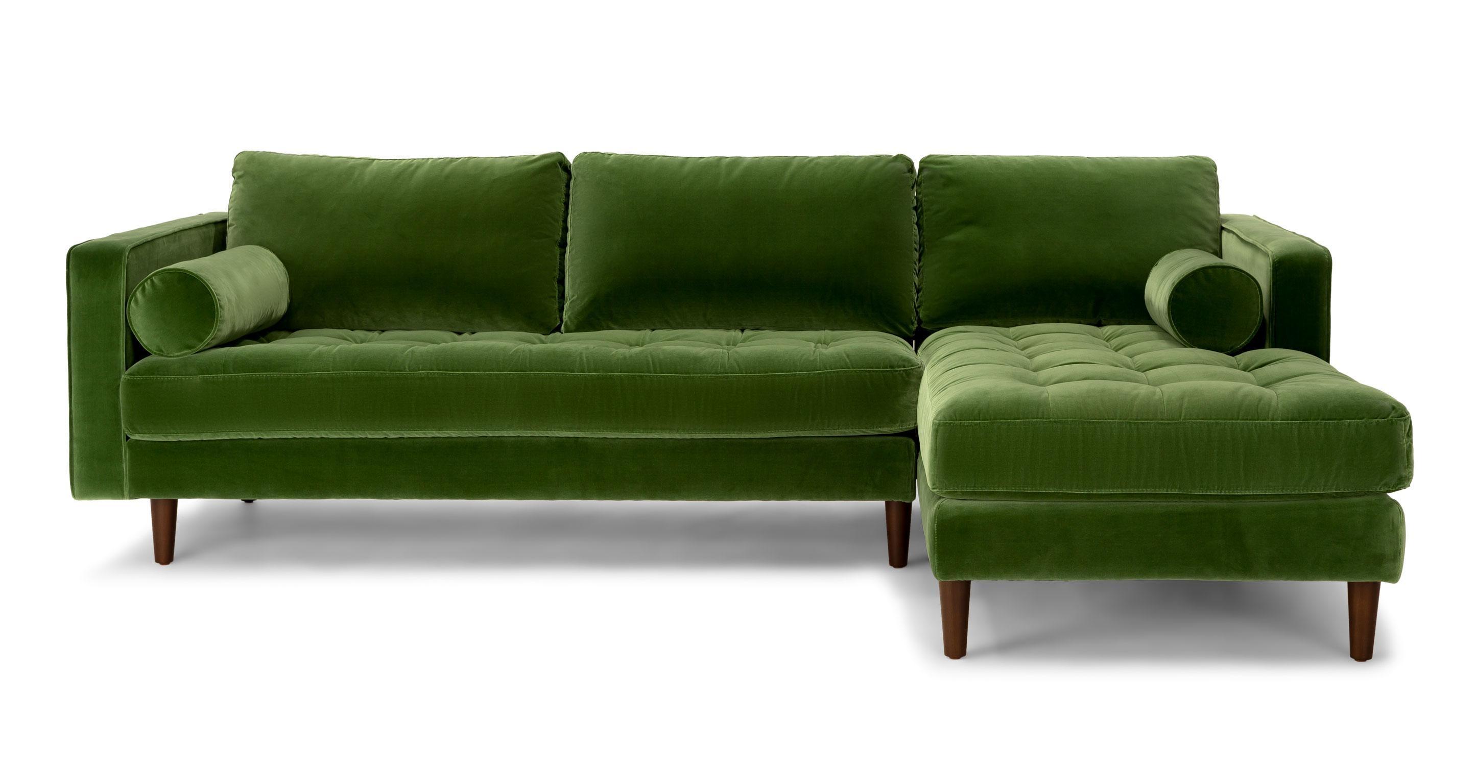 Velvet Sectional Sofa | Demand Sofas Set With Regard To Velvet Sofas Sectionals (View 3 of 20)