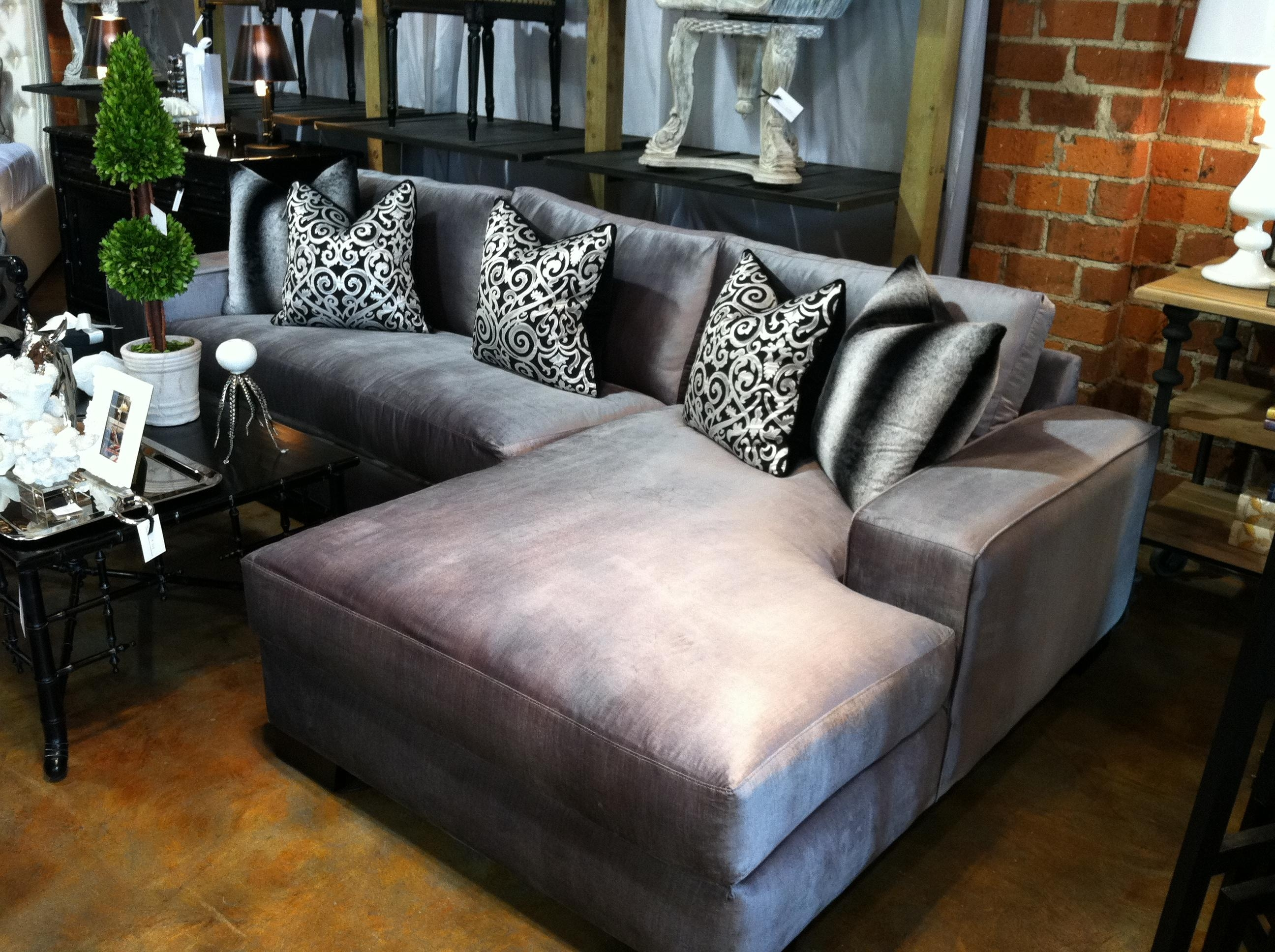 Featured Photo of Velvet Sofas Sectionals
