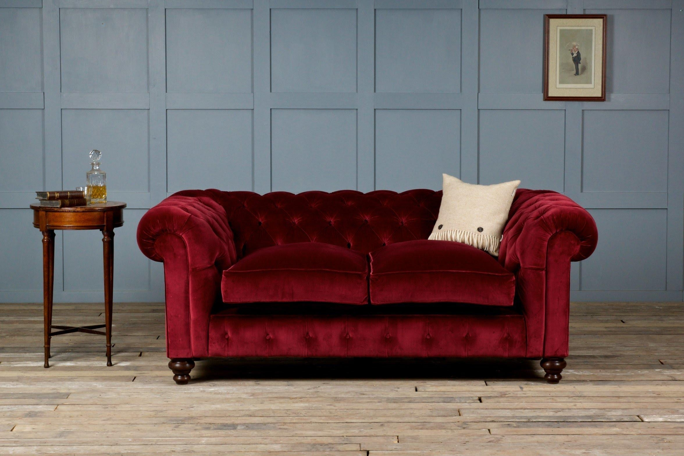 Velvet Sofa - Youtube intended for Velvet Sofas Sectionals