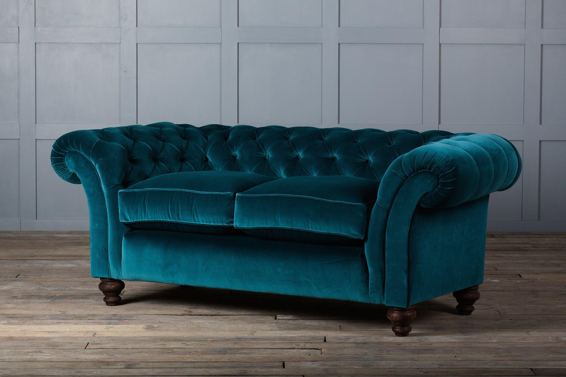 Velvet Tufted Sofa Canada | Tehranmix Decoration intended for Blue Velvet Tufted Sofas