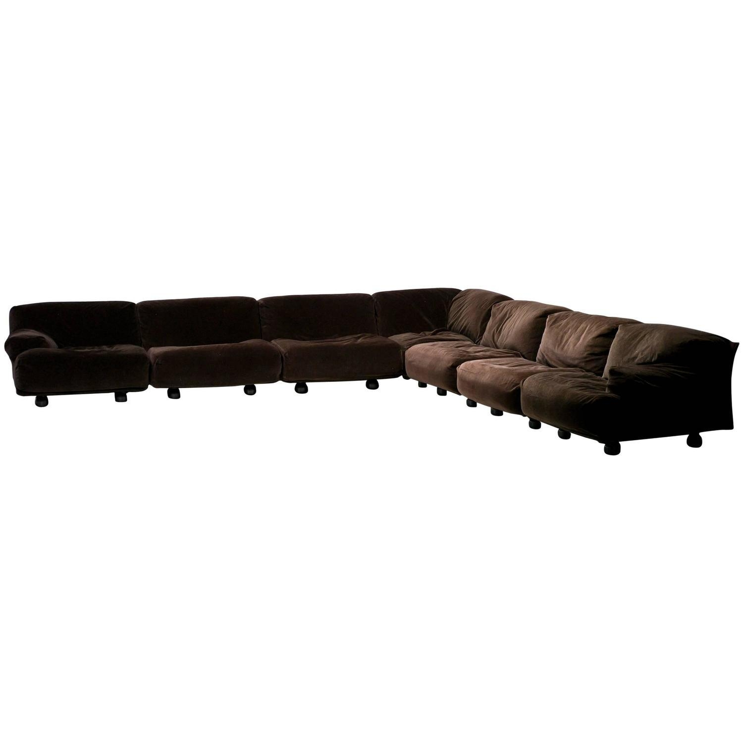 Very Large Modular Fiandra Sofavico Magistretti For Cassina regarding Very Large Sofas
