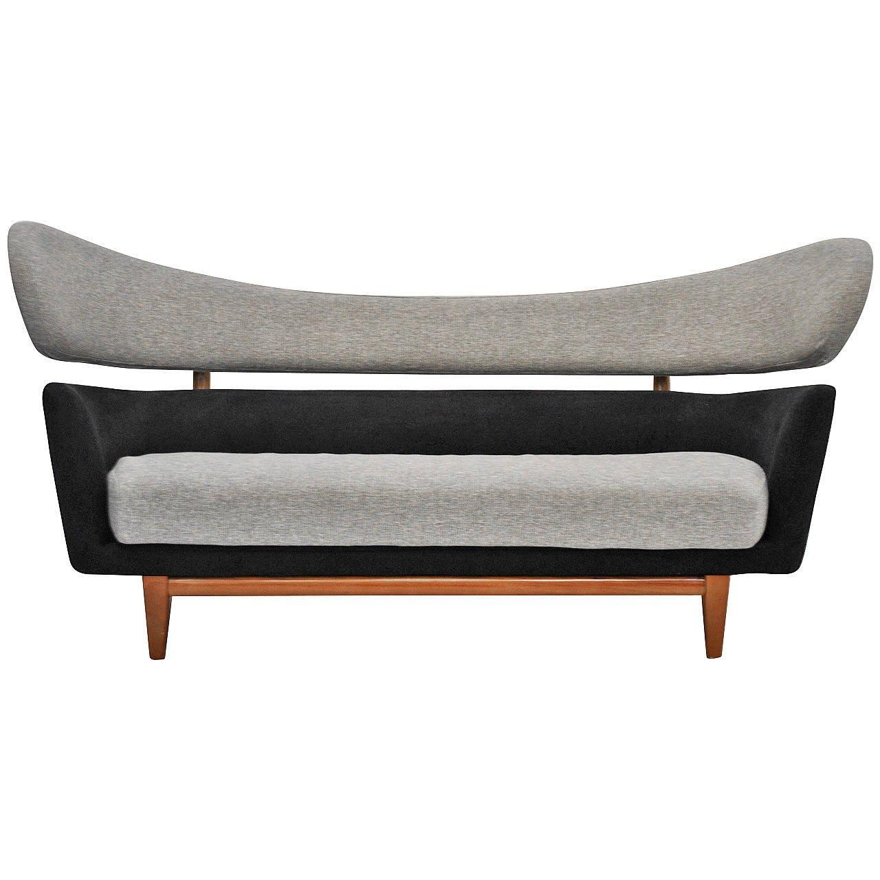 Vintage 'baker' Style Sofa At 1Stdibs Regarding Bench Style Sofas (View 3 of 20)