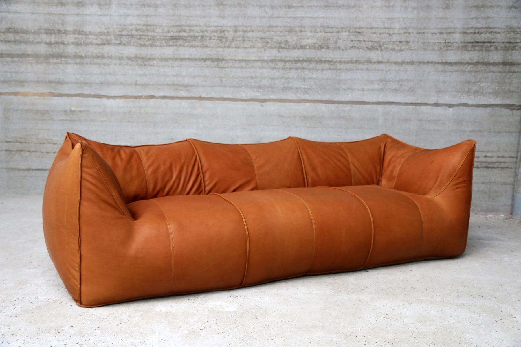 Vintage Bambole Three Seater Sofamario Bellini For B&b Italia Intended For Bellini Couches (Image 16 of 20)