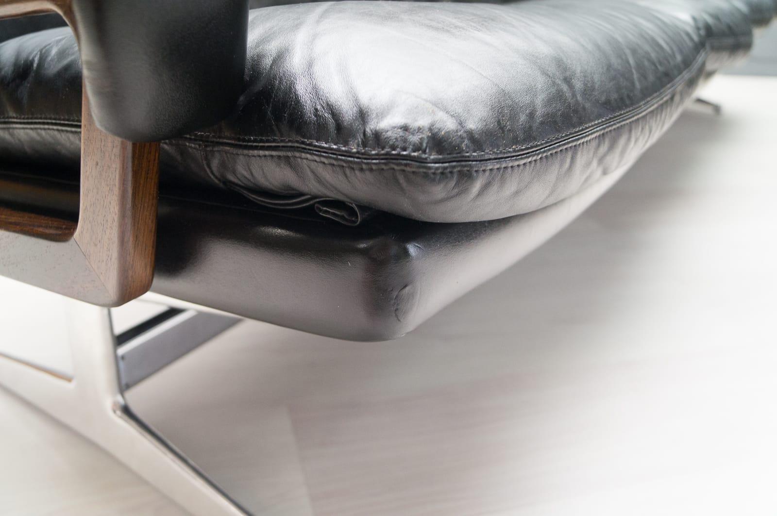 Vintage Four Seater Sofaandré Vandenbeuck For Strässle For Intended For Four Seater Sofas (Image 20 of 20)