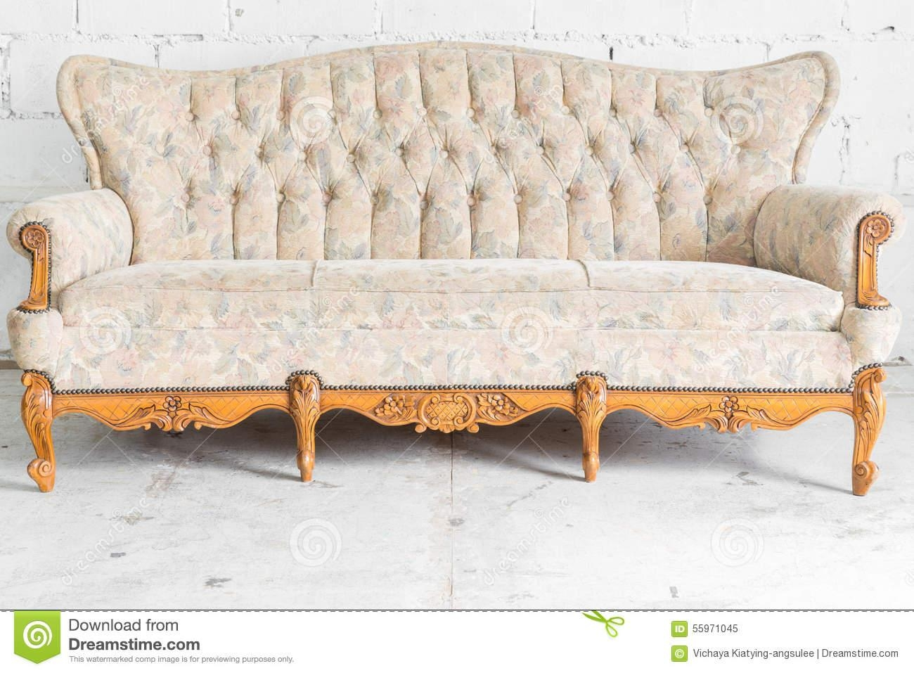 Vintage Sofa – Helpformycredit intended for Vintage Sofa Styles