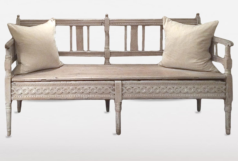 Vintage Sofa - Vintage Sofas - Vintage Style Sofas| Omero Home regarding Bench Style Sofas