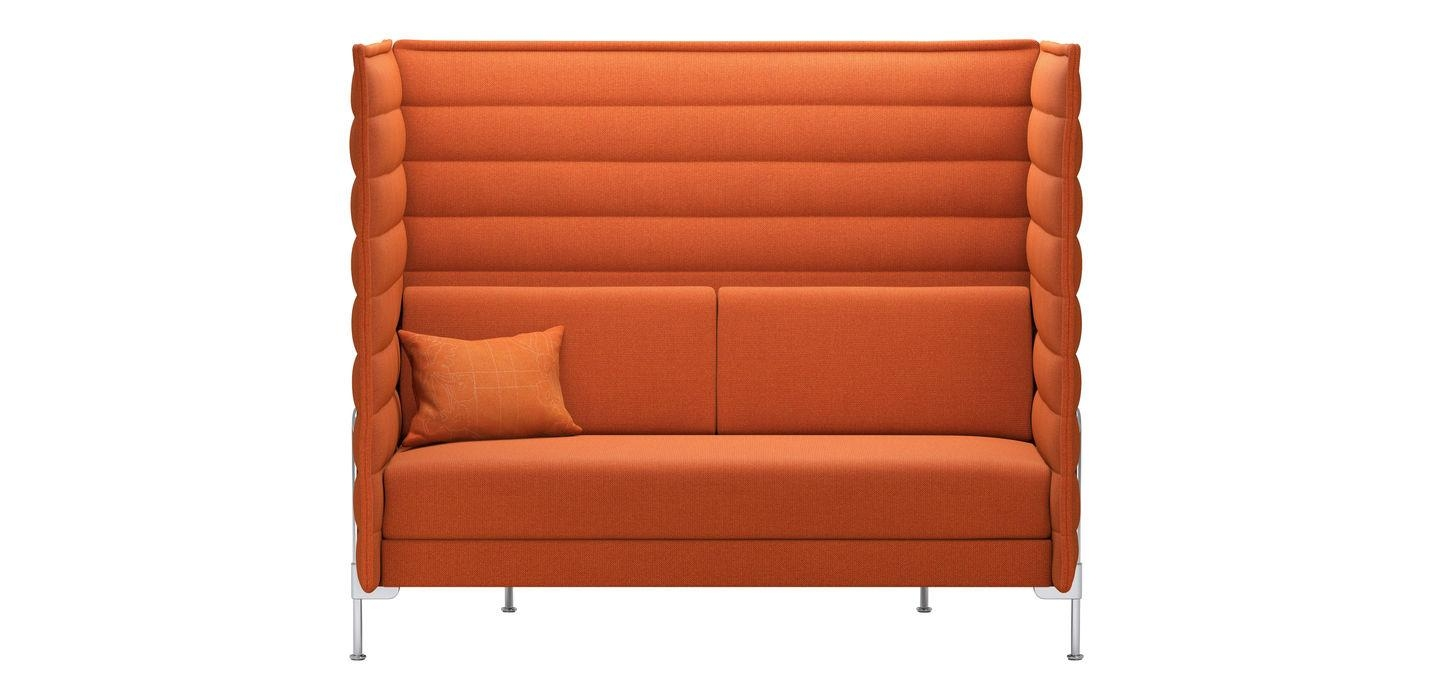 Vitra | Alcove Highback Sofa inside High Back Sofas And Chairs