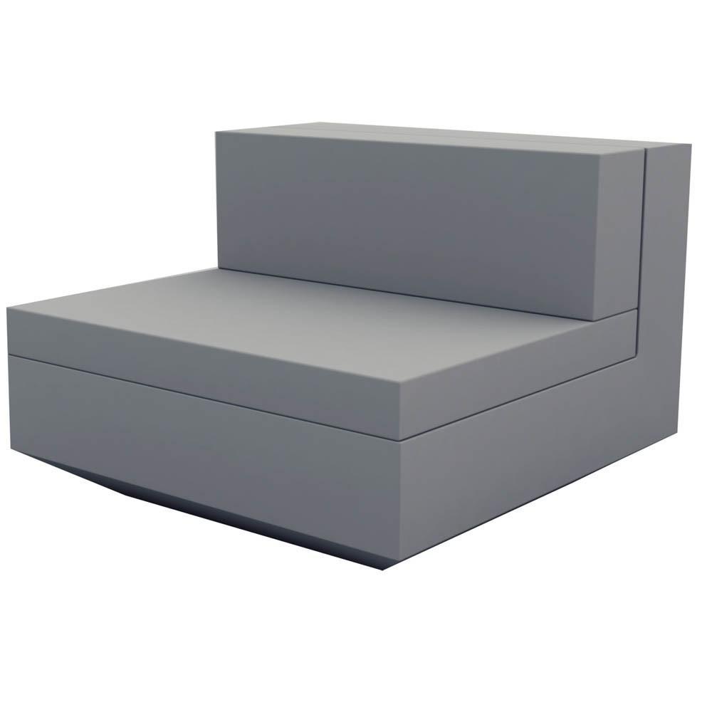Vondom Vela Sectional Sofa – Armless | Decor Interiors Regarding Armless Sectional Sofa (Image 14 of 15)
