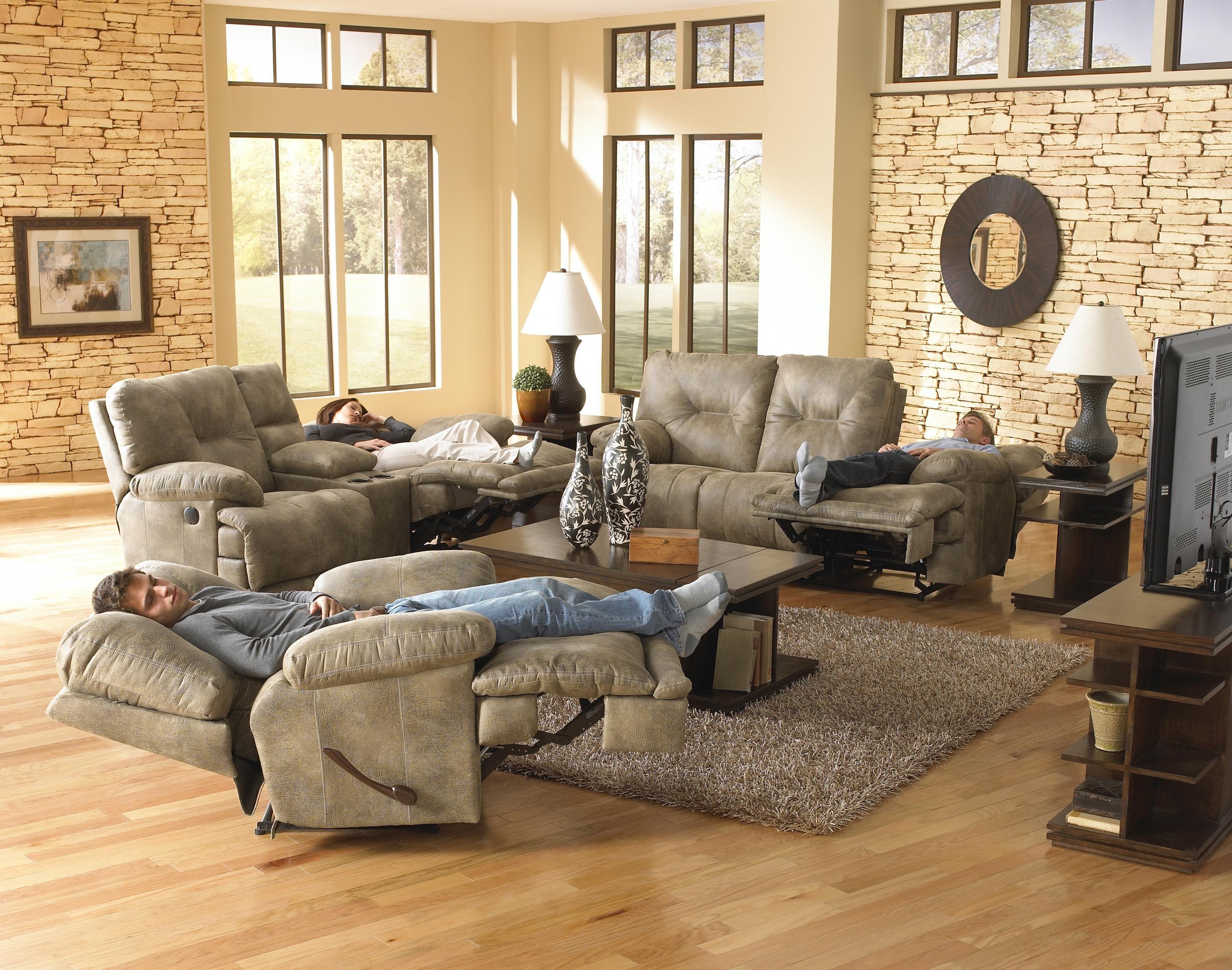 Voyager Reclining Sofa & Loveseatcatnapper inside Catnapper Sofas