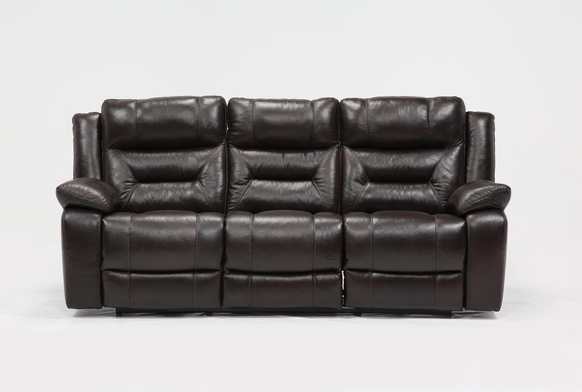 Wayne Power Reclining Sofa W/usb – Living Spaces Throughout Recliner Sofa Chairs (Image 20 of 20)
