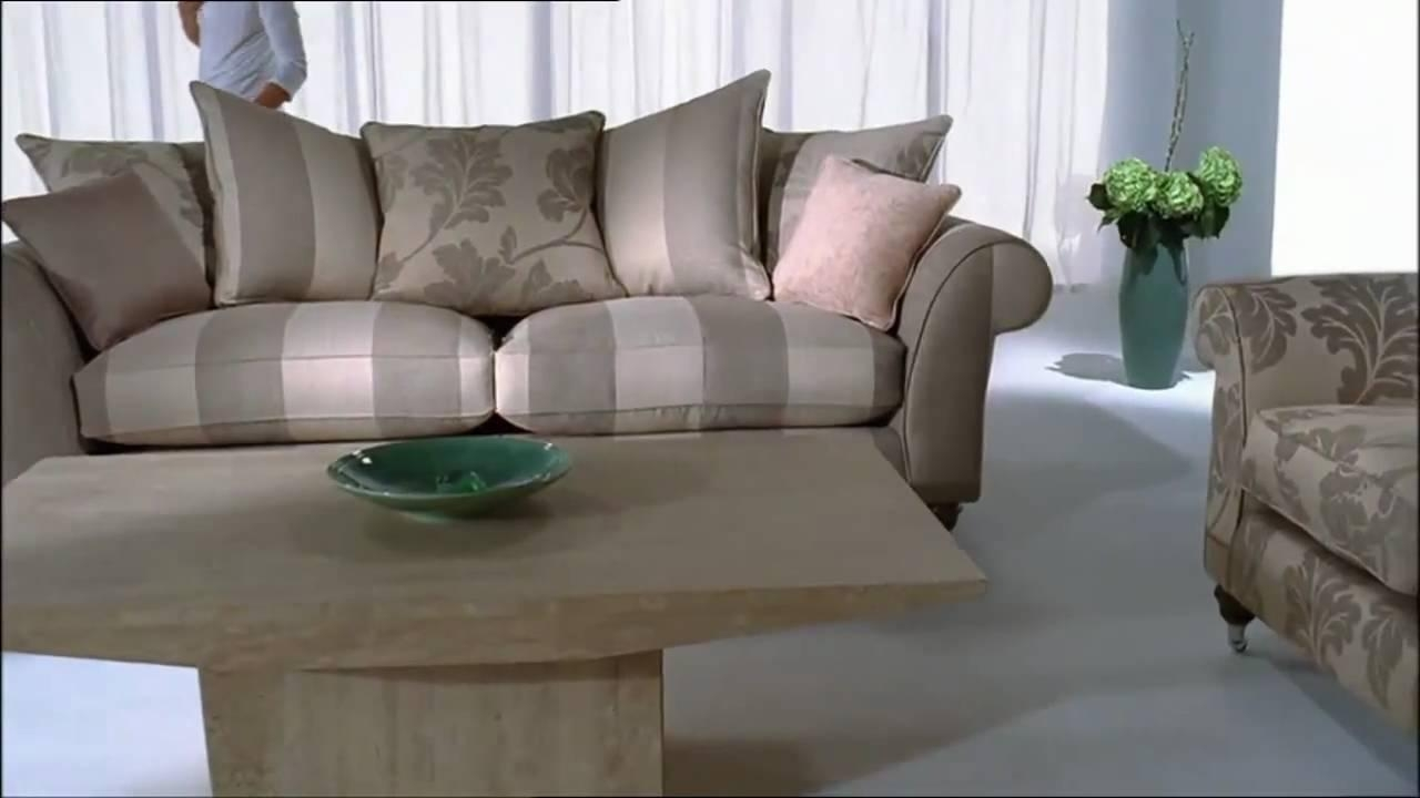 Wellington – Sofa – Youtube Within Striped Sofas And Chairs (Photo 14 of 20)