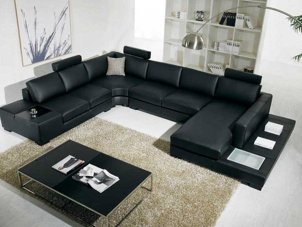 Where To Buy Microfiber Sectional Sleeper Sofa Pertaining To Black Microfiber Sectional Sofas (Image 20 of 20)