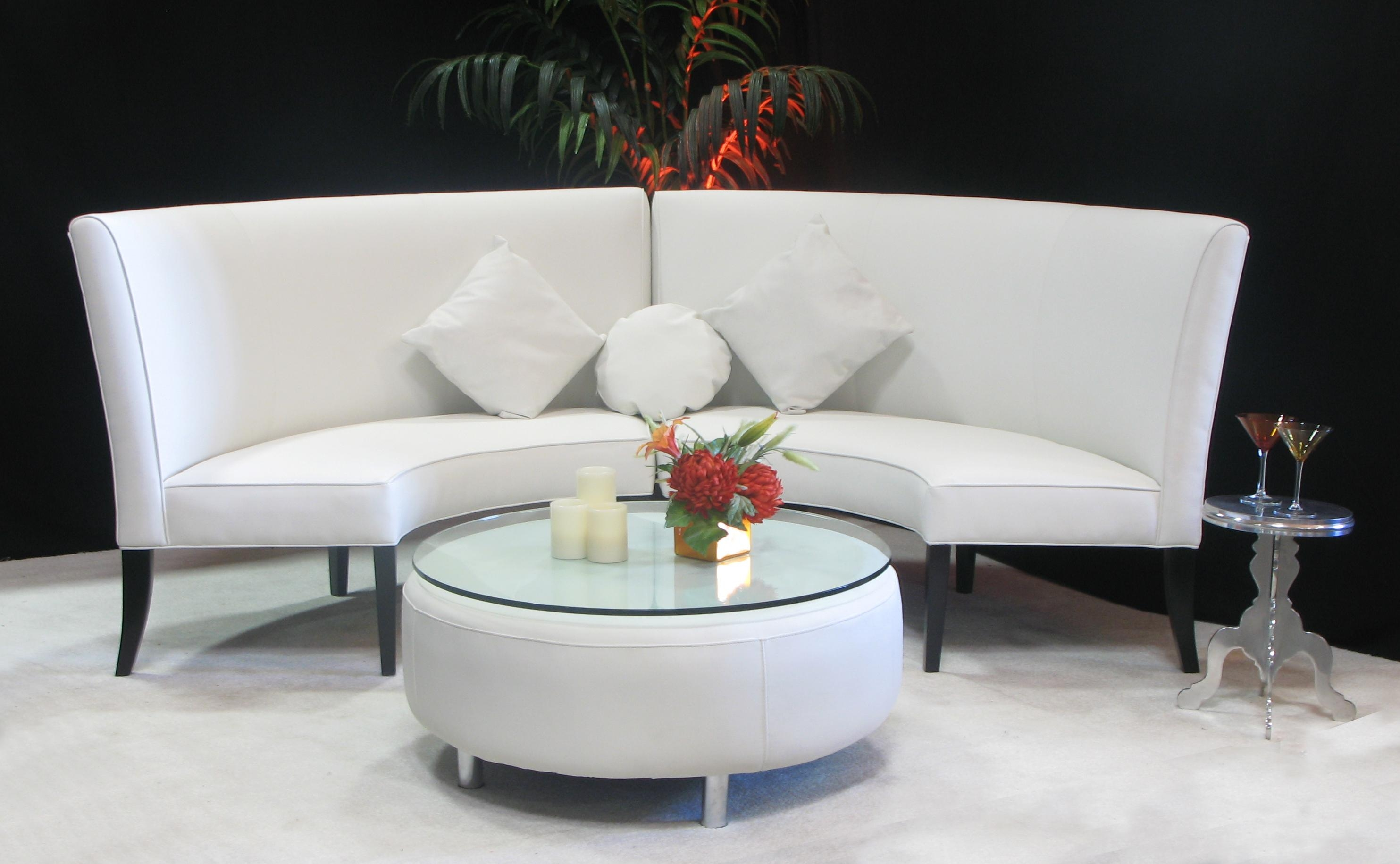 White High Back Slipper Sofa | Town & Country Event Rentals Throughout Slipper Sofas (View 18 of 20)