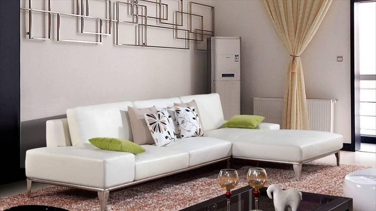 White Leather Furniture – Youtube Intended For White Leather Sofas (Image 14 of 20)