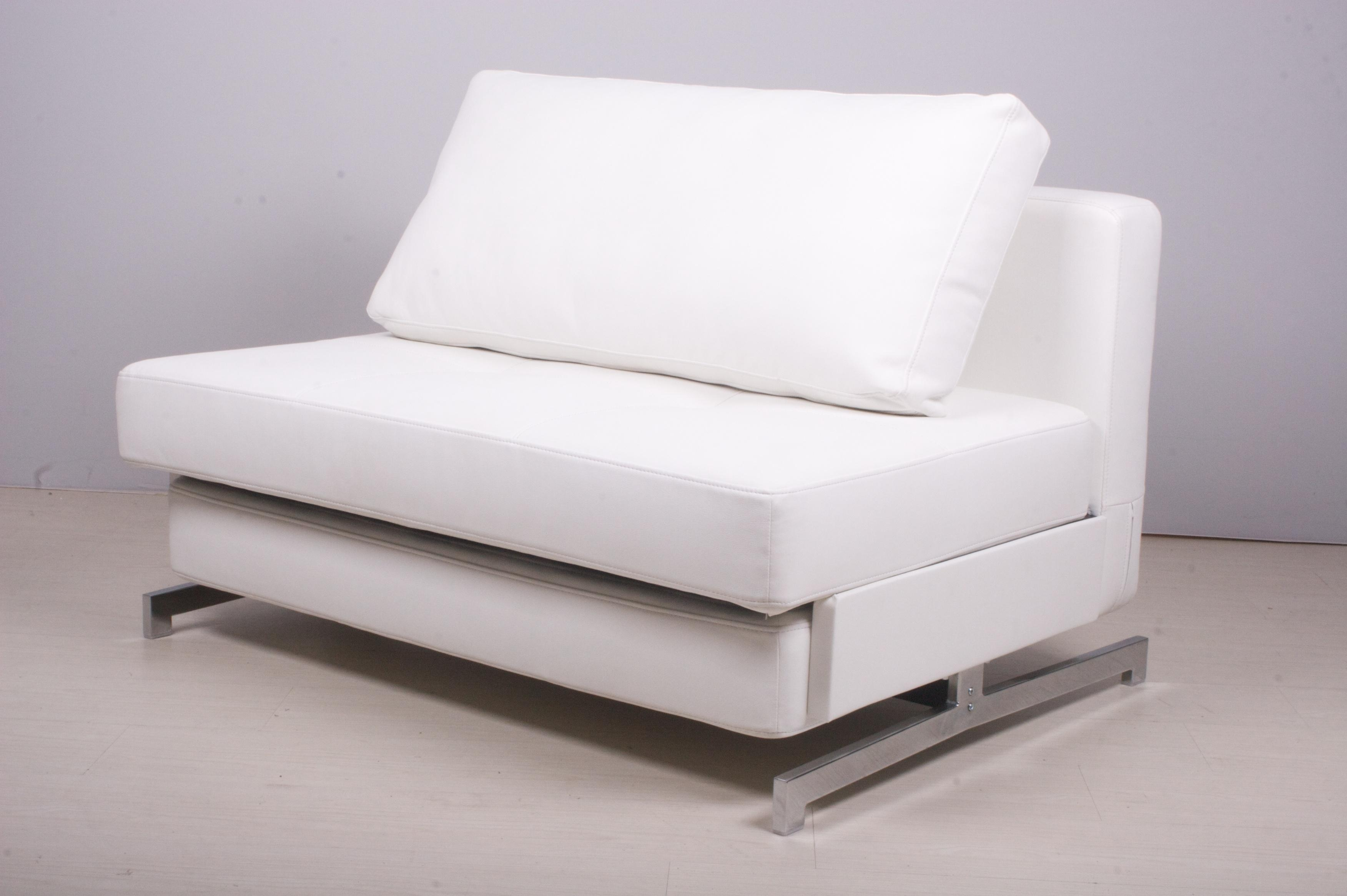 White Sofa Bed Leather | Tehranmix Decoration Inside White Sofa Chairs (View 13 of 20)