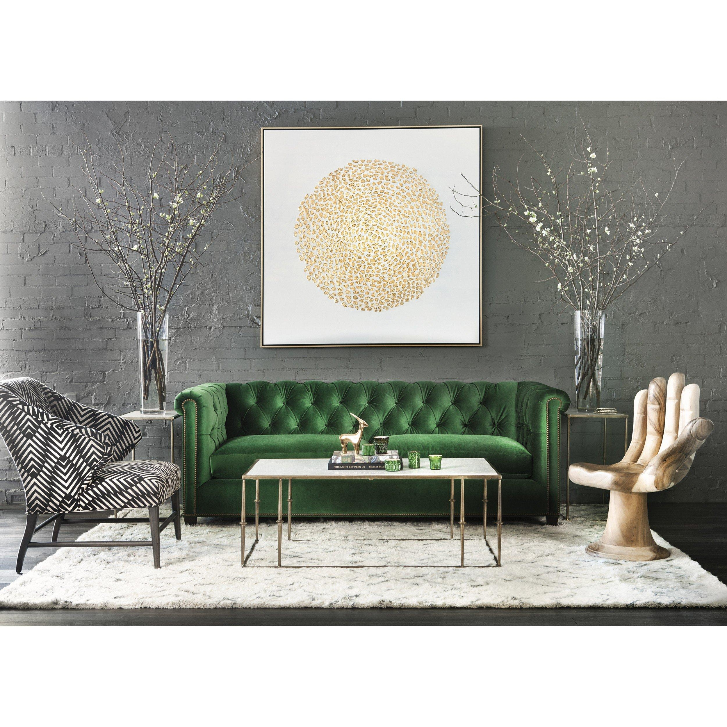 William Sofa Throughout Emerald Green Sofas (View 14 of 20)