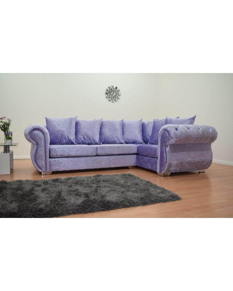 Windsor Right Hand Double Arm Corner Sofa – Black Intended For Windsor Sofas (Image 13 of 20)