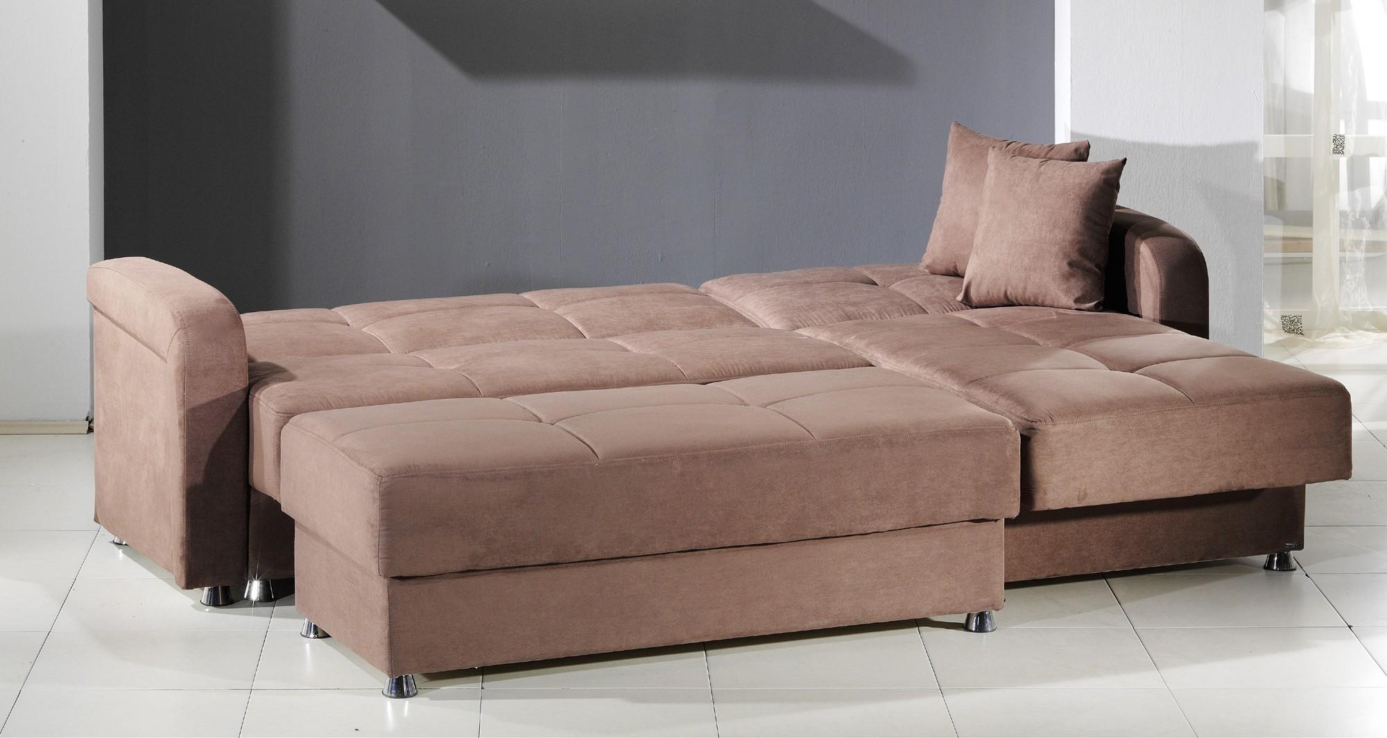 Wonderful Sleeper Sectional Sofa With Chaise Latest Cheap With Sleeper Sectional Sofas (View 11 of 20)