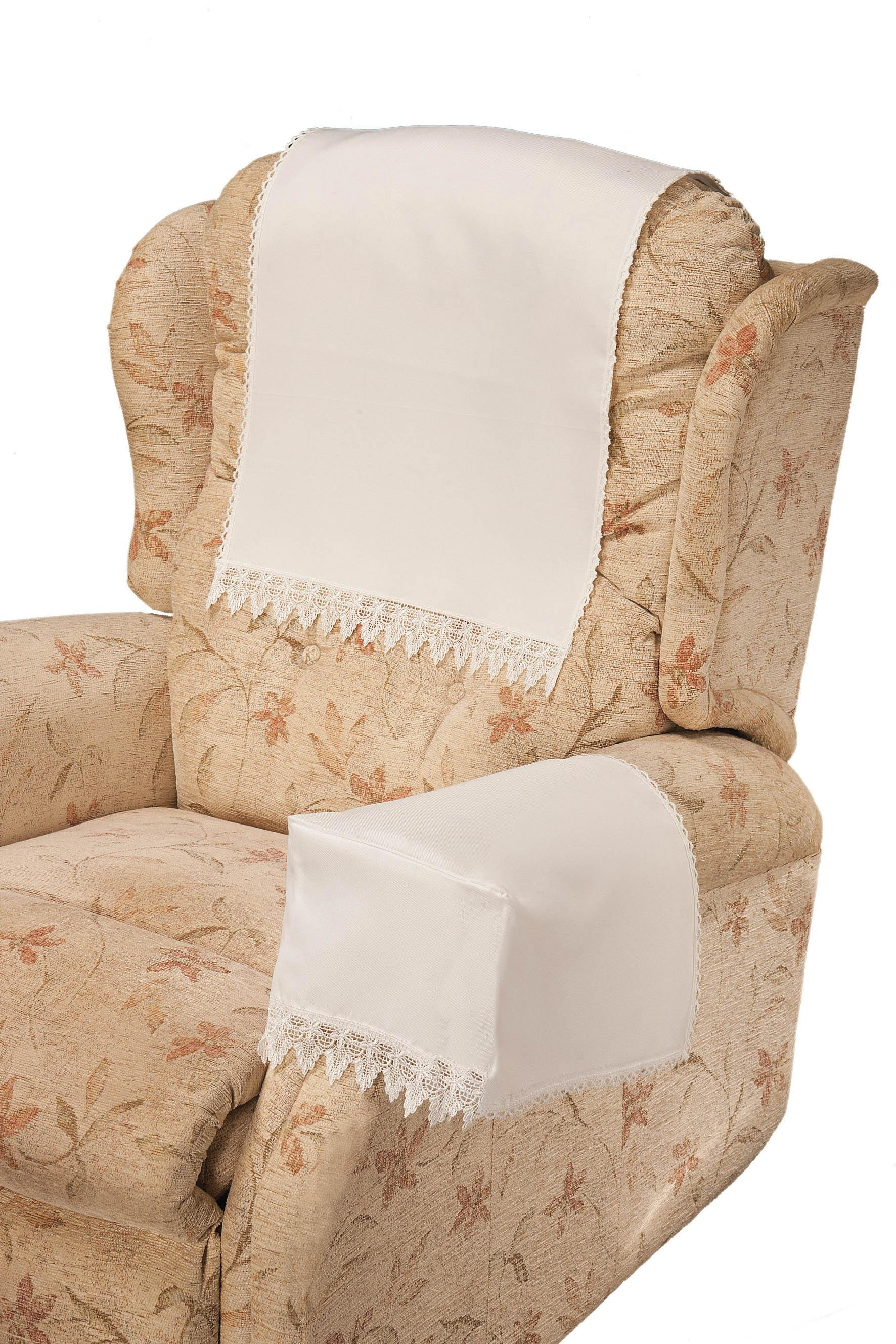 Wondrous Chair Armrest Covers 55 Leather Chair Arm Covers Sale Regarding Armchair Armrest Covers (View 3 of 20)