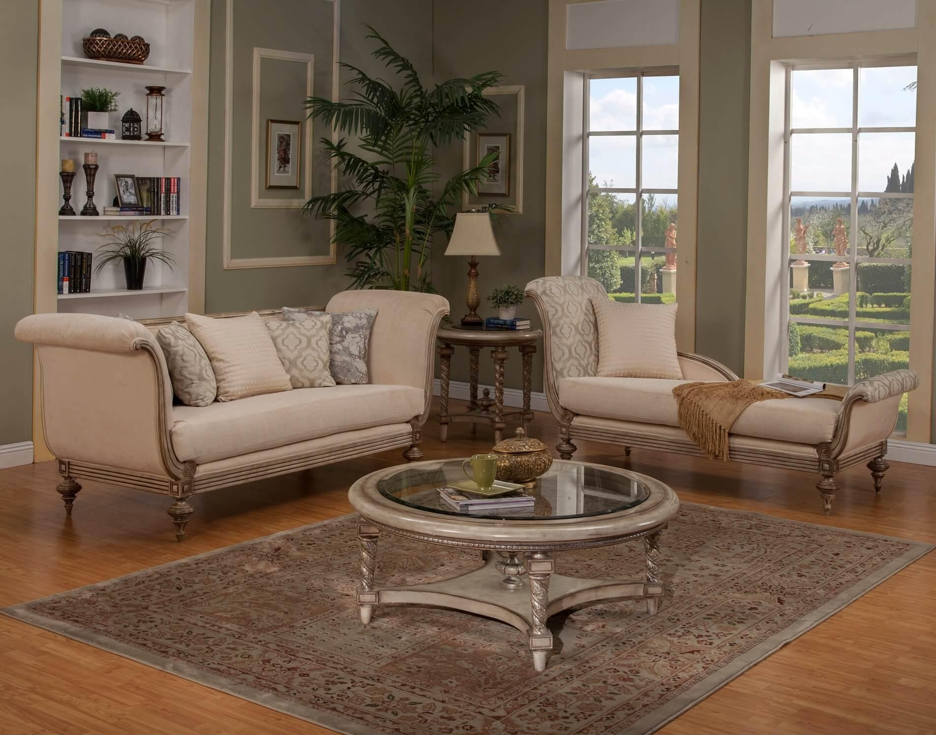 Wood Trim Sofa Coco Sofa In Sand Fabric With Wood Leg Trim Within Sofas And Chaises Lounge Sets (View 18 of 20)