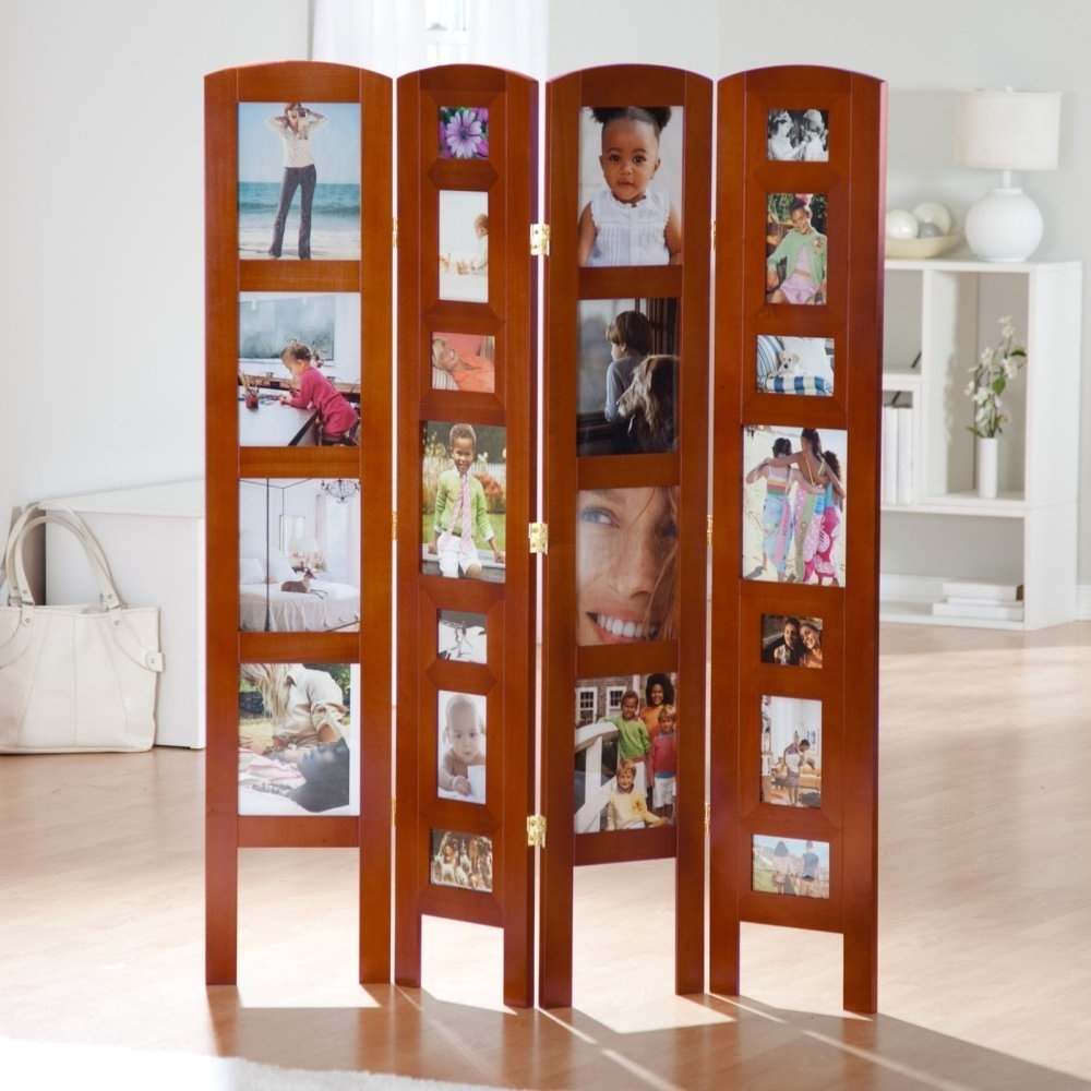 Wooden Folding Screen Room Divider – Wood Floor Installation Inside Room Dividers & Decorative Screens Ideas (View 10 of 12)