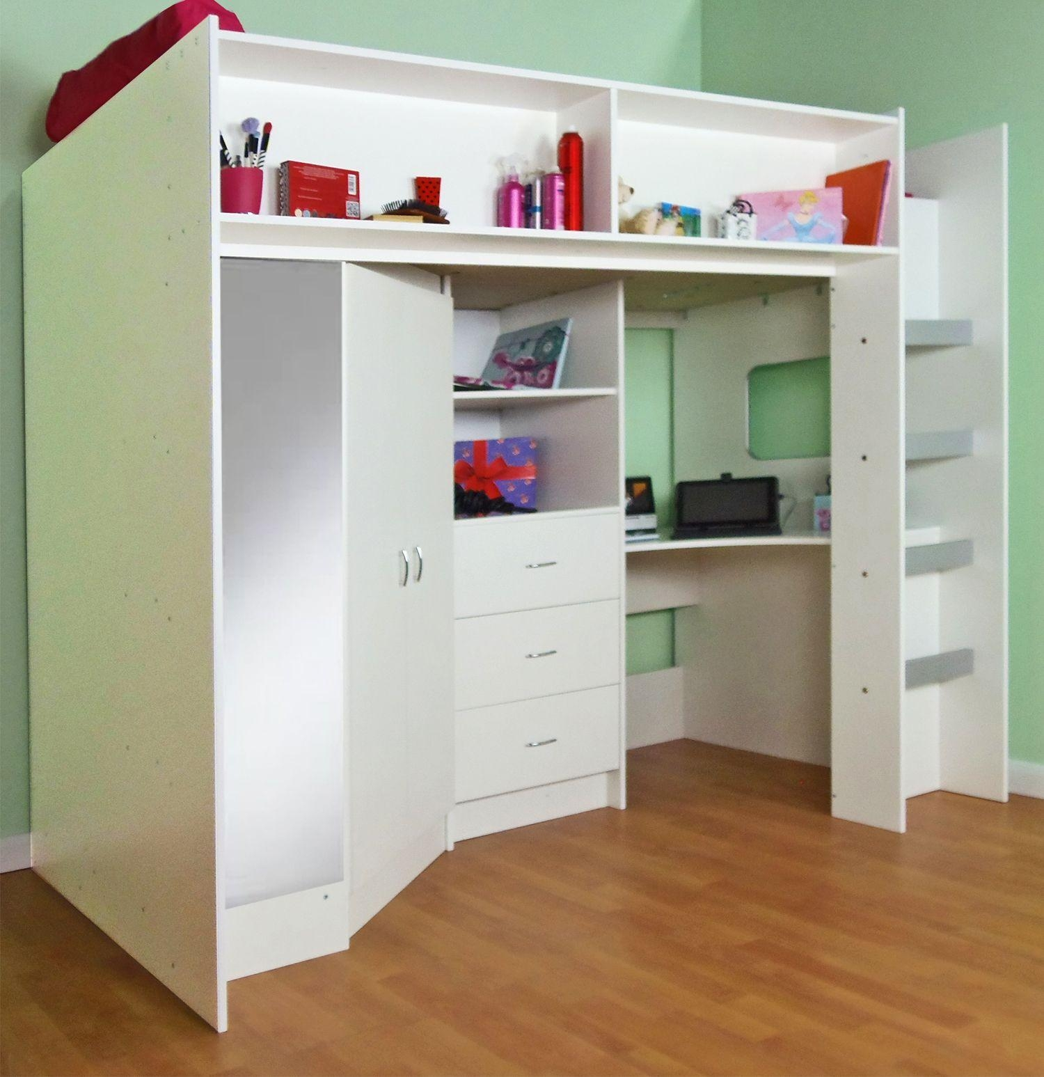 20 Top High Sleeper With Desk And Sofa Ideas