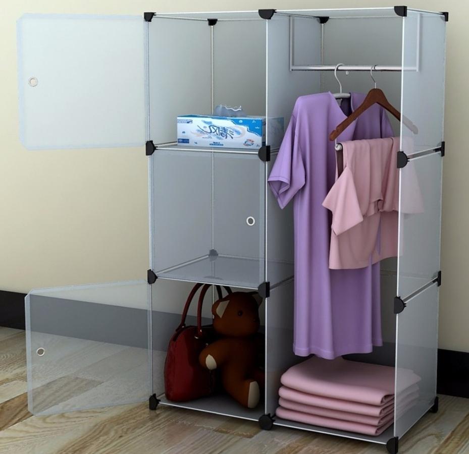 Wooden Portable Wardrobe Closet – Design Closet Organizer With Regard To Portable Wardrobe Closet (View 25 of 27)