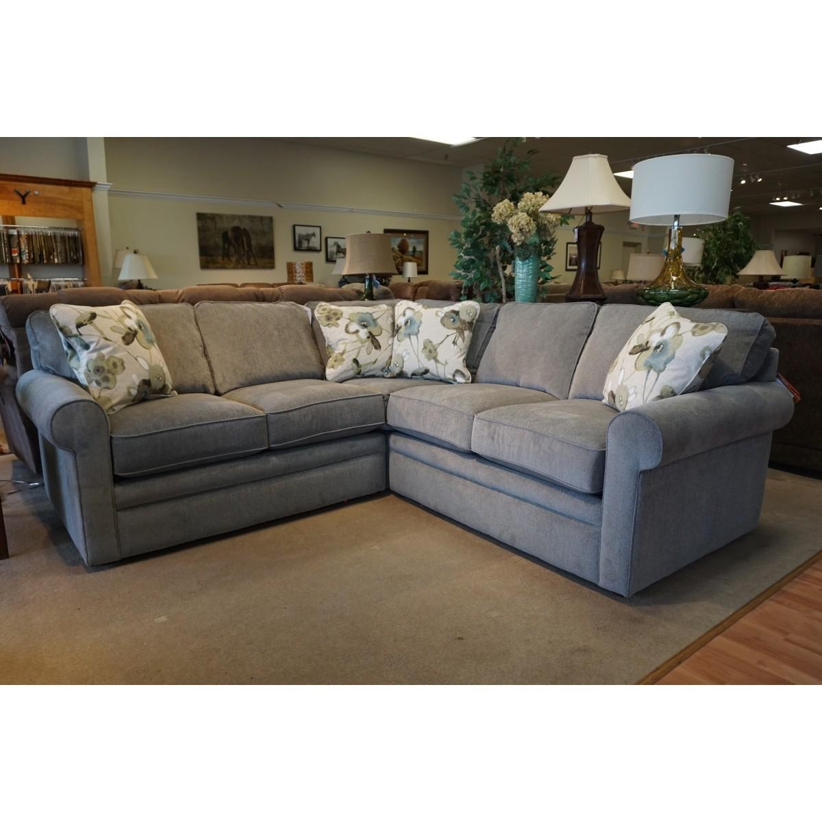 Z Boy Collins Sectional In Lazyboy Sectional Sofa (View 10 of 20)