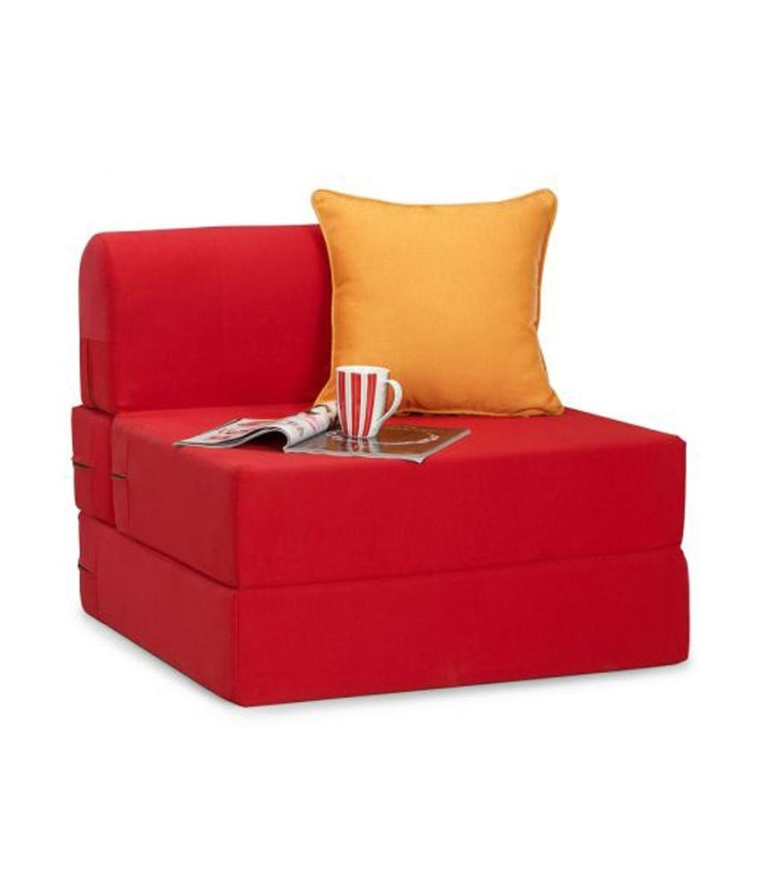 Zeal One Seater Sofa Cum Bed - Buy Zeal One Seater Sofa Cum Bed with regard to Single Seat Sofa Chairs