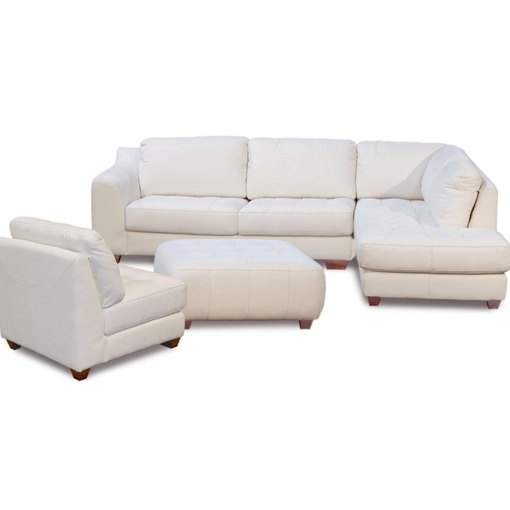 Zen Collection Right Facing Chaise Sectional Armless Chair And with Armless Sectional Sofas