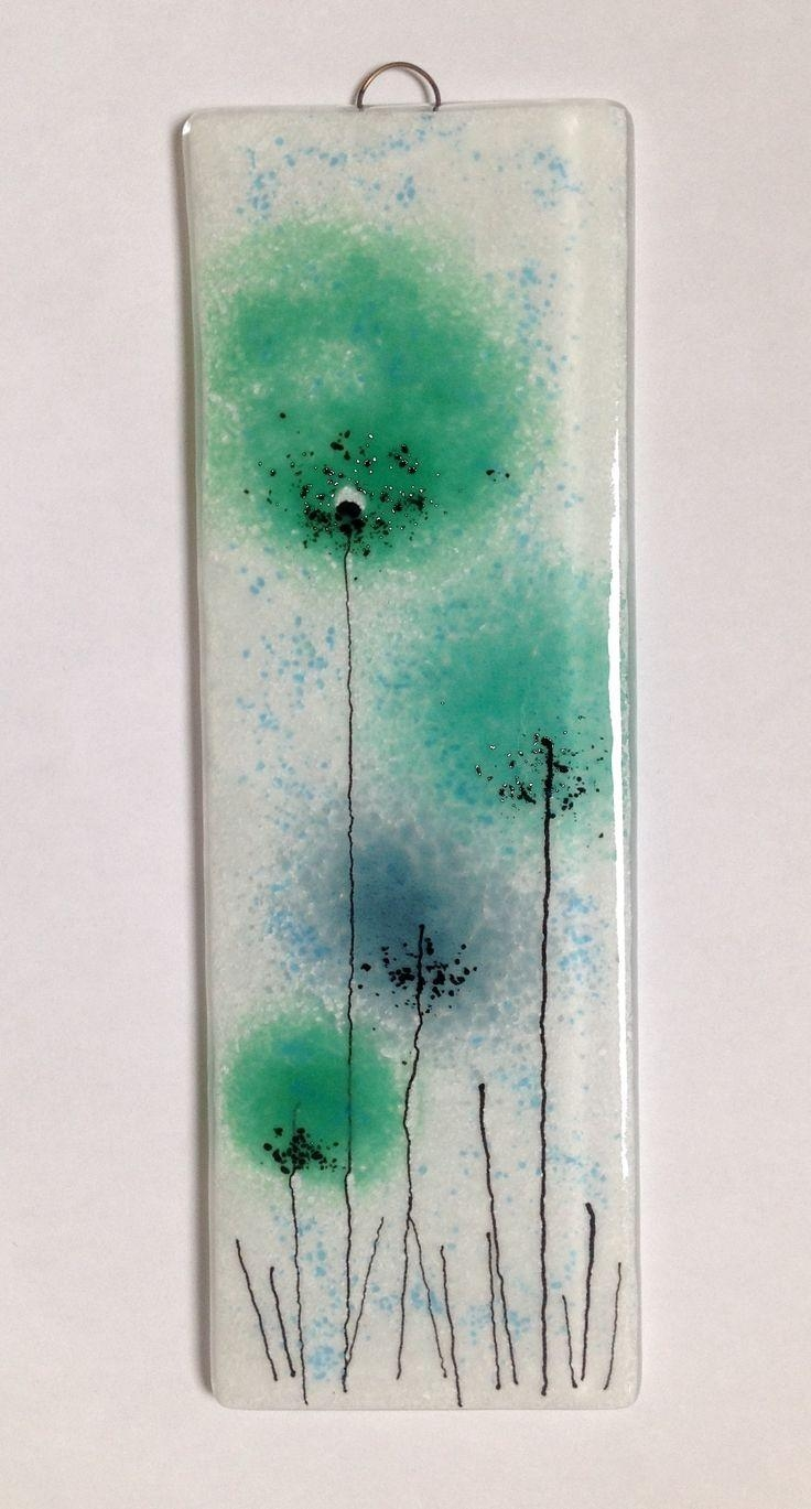 10 Best Fused Glass Paintings Images On Pinterest | Stained Glass Within Glass Wall Art Panels (Image 1 of 20)