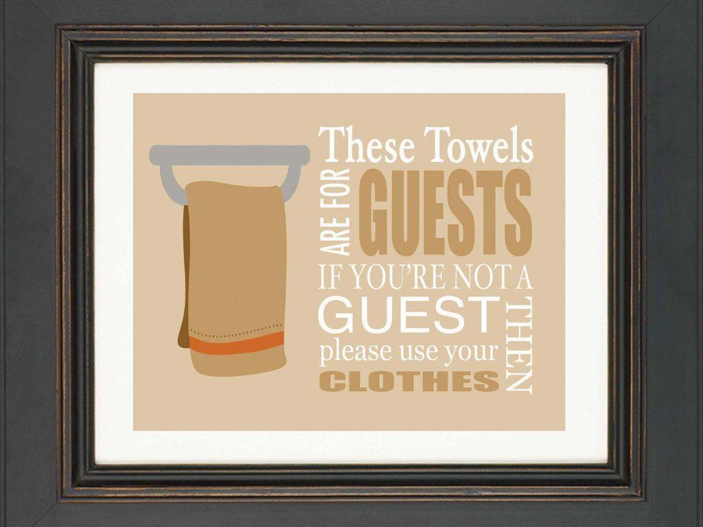 100+ [ Bathroom Wall Art Ideas ] | 15 Decorative And Interesting Regarding Bathroom Wall Hangings (Image 1 of 20)
