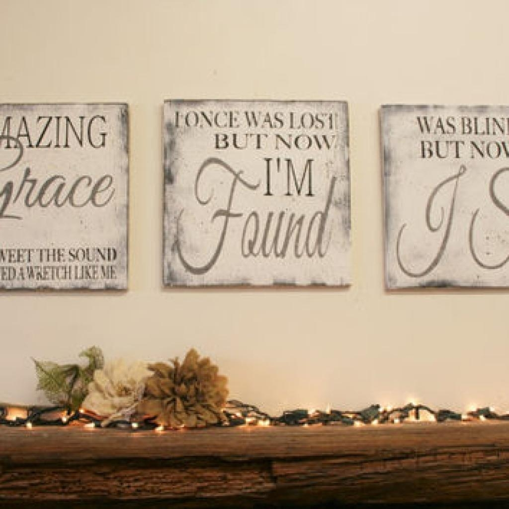 1000+ Ideas About Christian Wall Art On Pinterest | Wall Art pertaining to Grace Wall Art