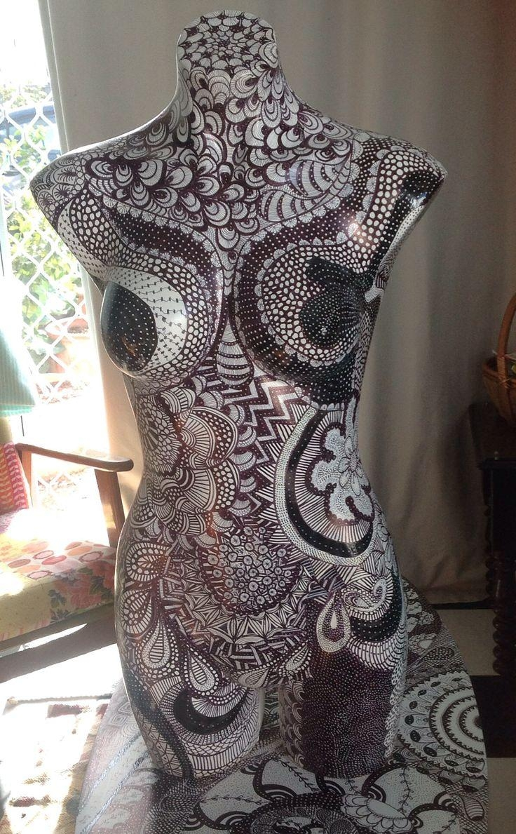 101 Best Crea: Torso Images On Pinterest | Mannequin Art, Mosaic Throughout Mannequin Wall Art (Image 1 of 20)