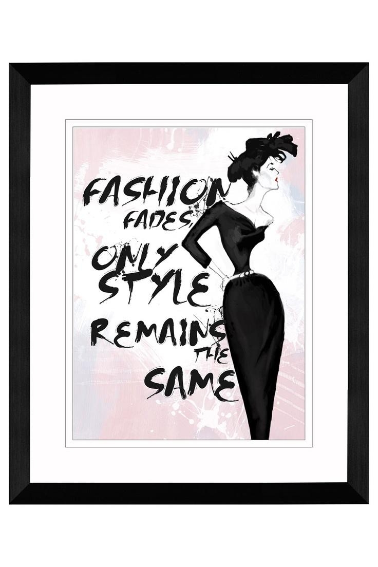 104 Best Coco Chanel Images On Pinterest | Coco Chanel, Coco Throughout Coco Chanel Quotes Framed Wall Art (View 13 of 20)