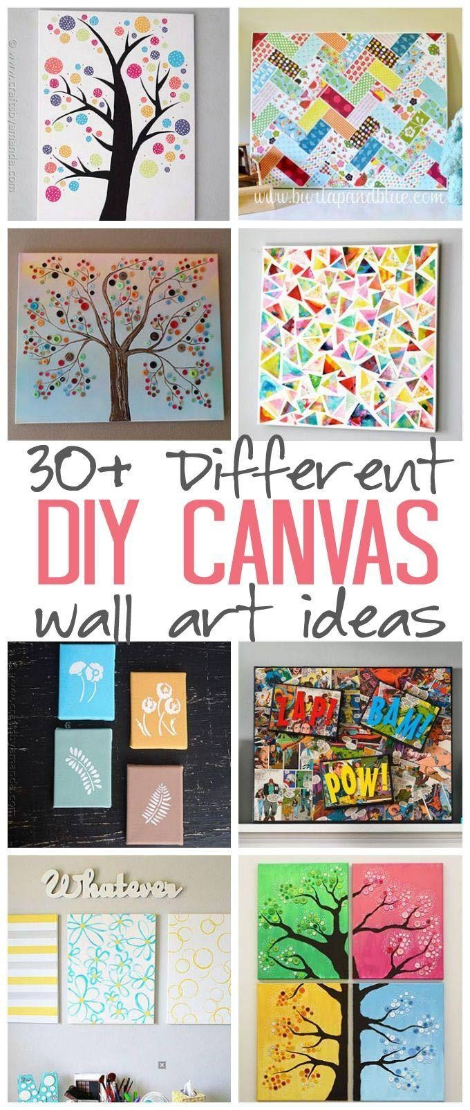 105 Best Art For Me Images On Pinterest | Diy, Drawings And Kid inside Diy Pinterest Canvas Art